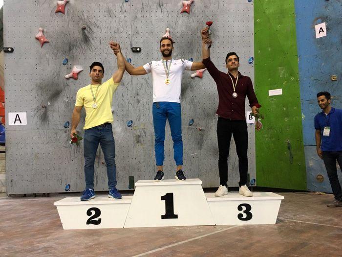 5 مدال سنگنوردان استان در رقابت های سنگنوردی سرعت قهرمانی کشور