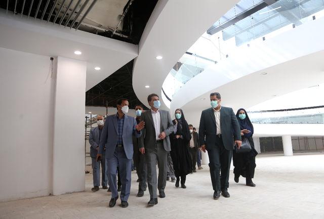 تالار مرکزی کرمان مشکل اعتباری ندارد