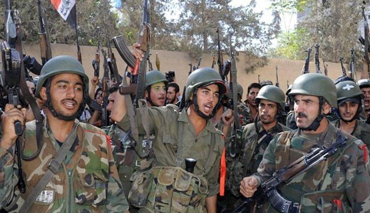 ورود ارتش سوریه به شهر طفس