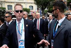 اعلام خبر مرگ افسر اطلاعاتی تیم محافظت از ترامپ پس از پایان سفر اروپایی او