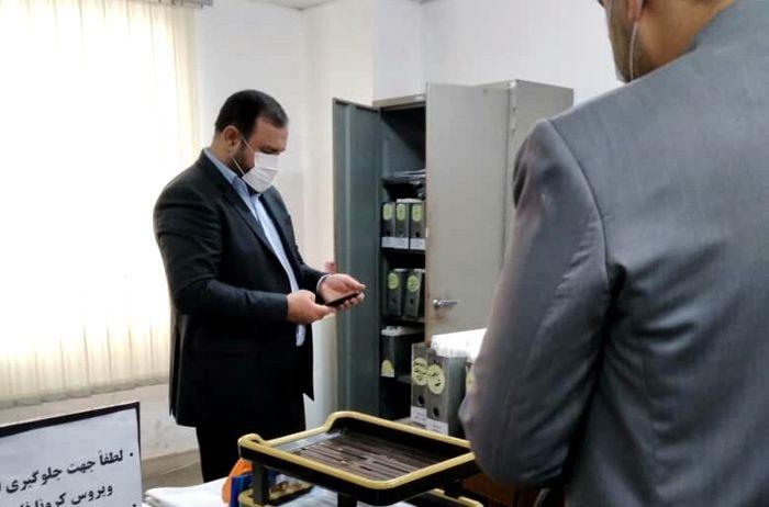 بازدید سرزده رییس کل دادگستری هرمزگان از دادسرای عمومی و انقلاب بندرعباس