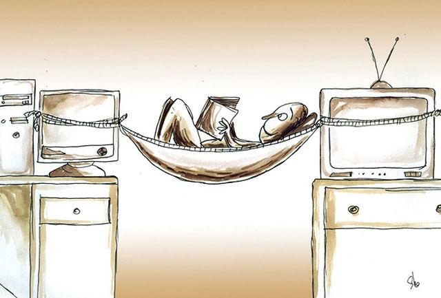 تلویزیون بی کتاب ، کتاب بی تلویزیون