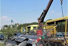 37 کشته و زخمی در واژگونی تویوتا