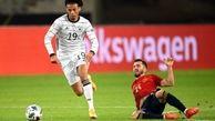 بازی اسپانیا –آلمان روی آنتن