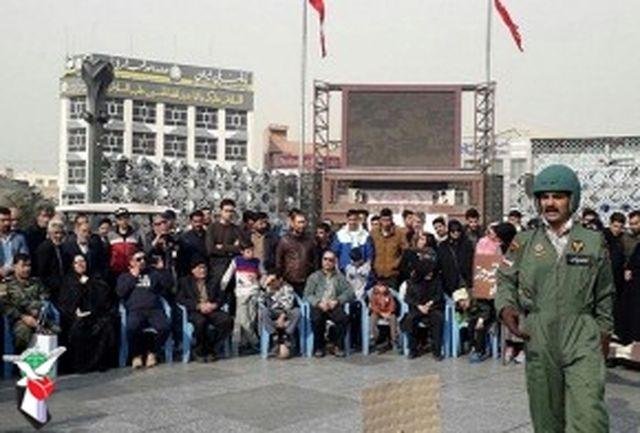 معرفی خلبان شهید غلامرضا چاغروند در نمایش «bell ۲۱۱»