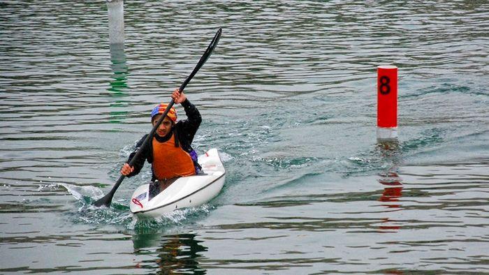 نفرات برتر رقابت های قایقرانی اسلالوم المپیاد استعدادهای برتر در قزوین مشخص شدند