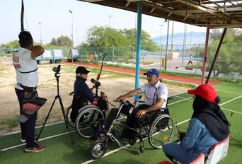 اردوی ملی پوشان المپیکی و پارالمپیکی تیر و کمان در کیش