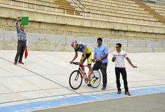 دوچرخه سوار اندیمشکی مقام اول لیگ پیست جوانان کشور را کسب کرد