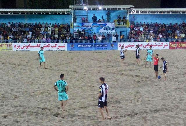 ساعت برگزاری مسابقات لیگ برتر فوتبال ساحلی کشور در یزد تغییر کرد