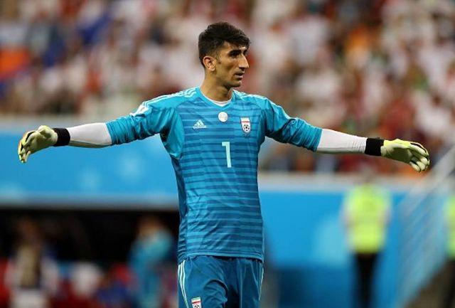 واکنش بیرانوند به عدم حضورش در تیم ملی+ عکس