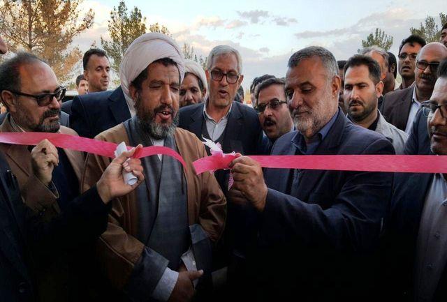 پروژه آبیاری زیرسطحی ۷۲ هکتاری نهبندان افتتاح شد