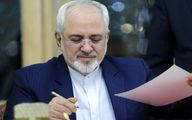 هشدار ظریف به گشتزنی B-52H آمریکایی با هدف ارعاب ایران