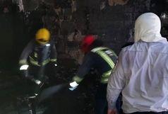آتش سوزی خانه بازی های فکری کودکان در کیانپارس+ببینید