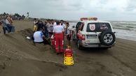 نجات جان مرد ۳۶ ساله از غرق شدگی در سواحل کاسپین