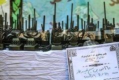 کشف 160 دستگاه بیسیم غیرمجاز در تهران+ببینید
