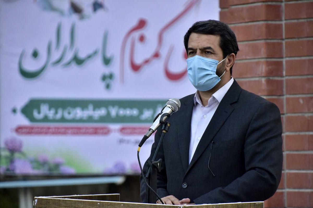 قطره قطره خون شهیدان موج های خروشانی برای تحقق اهداف انقلاب اسلامی