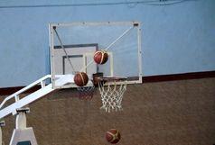 مسابقات قهرمانى کشور بسکتبال نونهالان در کرمان برگزار شد