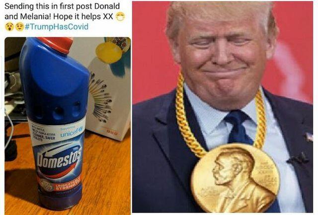آمریکاییها خطاب به ترامپ: مواد شوینده بنوش