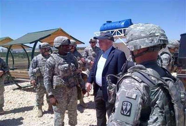 دیدار سناتور جان مککین با مخالفان سوری در سوریه