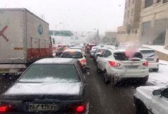 بارش برف، باران و کاهش دید در بیشتر نقاط کشور