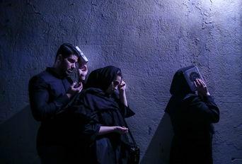 احیای شب بیست و سوم ماه رمضان - امامزاده عینعلی و زینعلی