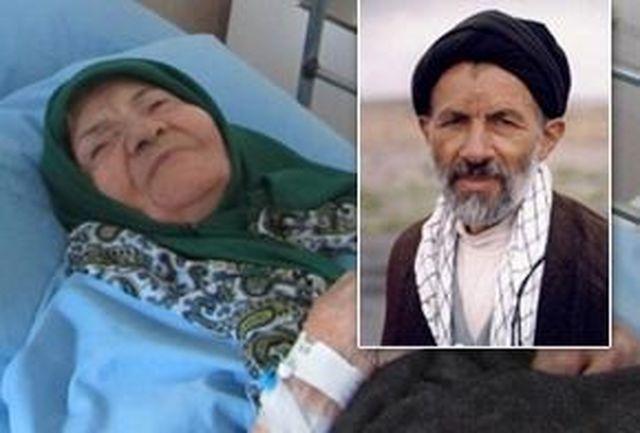 مادر سید آزادگان، شهید ابوترابی، دار فانی را وداع گفت