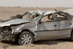 ۵ کشته و مصدوم بر اثر واژگونی پژو 405/ اسامی حادثه دیدگان جاده آبادان - بندر امام