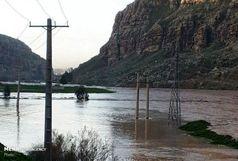 چراغ خانه روستاهای در محاصره سیل استان کرمانشاه روشن شد
