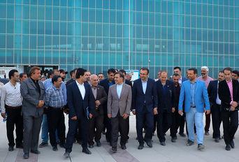 افتتاح پلیکیشن شهر فرودگاهی امام خمینی