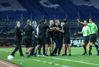 در حاشیه فینال جام حذفی