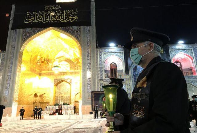 برگزاری آیین خطبه خوانی شب شهادت حضرت امام رضا(ع) در مشهد