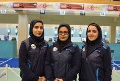 ایران قهرمان تپانچه بادی جوانان آسیا شد