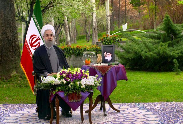 ویژگیهای جالب فضای پیام نوروزی رئیس جمهوری