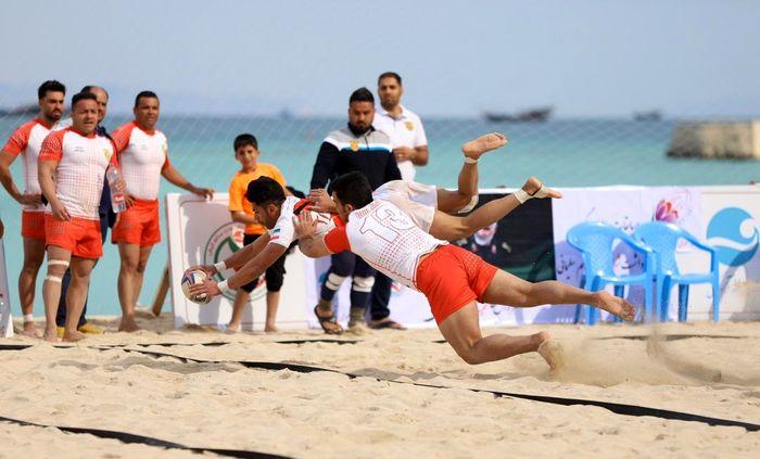 مسابقات راگبی ساحلی،جام سردار شهید قاسم سلیمانی در کیش به کار خود پایان داد