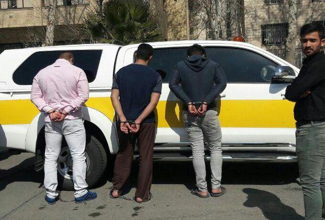 جزئیات دستگیری 6 سارق مسلح خودروی حمل پول بانک پاسارگاد/ اعترافات طراح اصلی سرقت