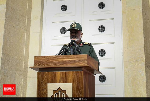 فرمانده کل سپاه از سردار قاآنی قدردانی کرد
