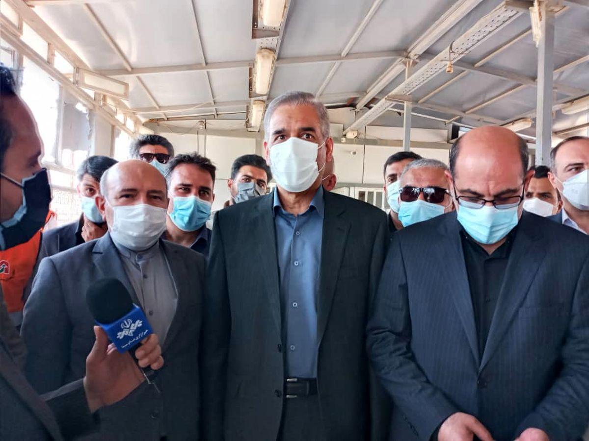 زایران اربعین به سهولت از مرزهای خوزستان به اقصی نقاط کشور در حرکت هستند