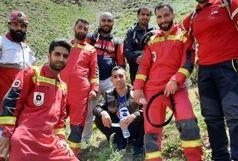 نجات ۴ جوان محبوس شده در ارتفاعات شمیرانات