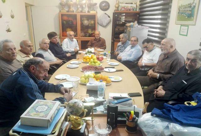 برگزاری جلسه هماهنگی چهارمین دوره مسابقات باشگاهی پیشکسوتان تهران