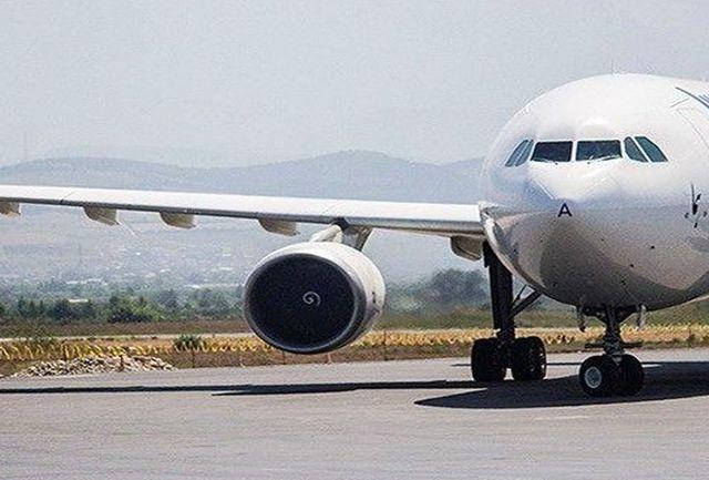 افزایش پروازهای فرودگاه سنندج