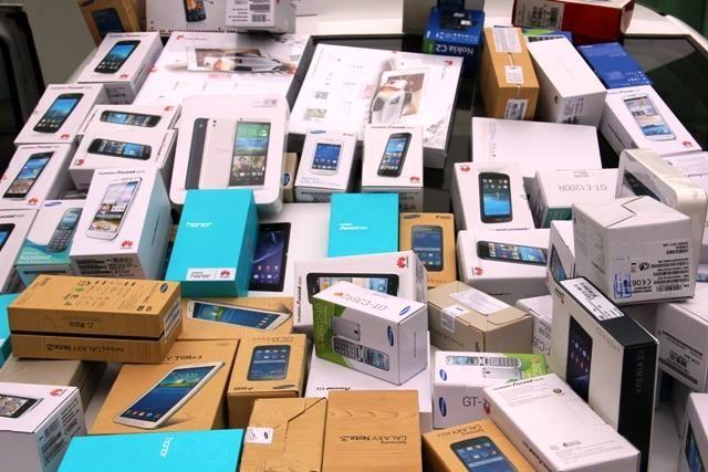 ۳۸ میلیارد تلفن همراه قاچاق در مرز بانه توقیف شد