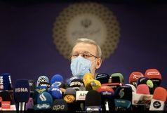 لاریجانی پیروزی فروغی را تبریک گفت