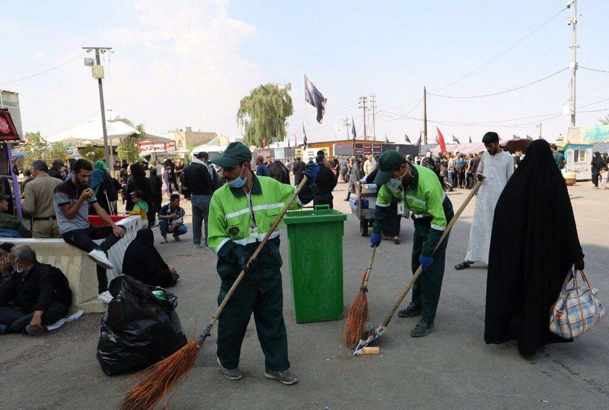 تقدیر مسئولان شهرهای نجف و کربلا از خدمات شهرداری تهران