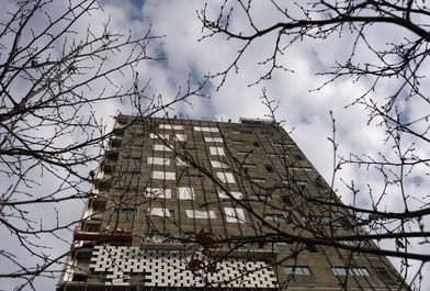 بازدید رییس بنیاد مستضعفان از مراحل ساخت ساختمان پلاسکو