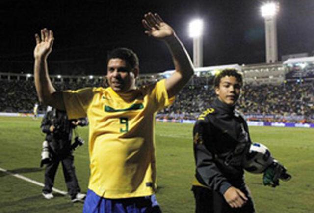 گزارش تصویری از وداع رونالدو با دنیای فوتبال