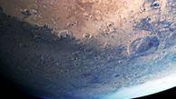 انتشار تصویر خیرهکنندهای از مریخ
