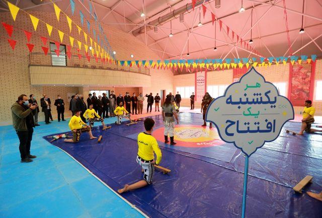 ساکنان محله عمان سامانی صاحب ورزشگاه شدند