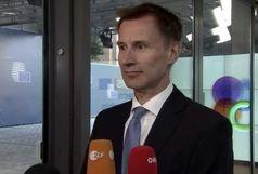 وزیر خارجه انگلیس: گزینه نظامی در دستور کار نیست