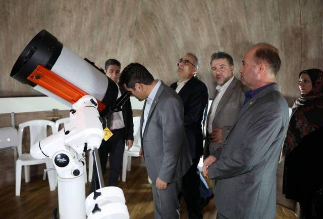 افتتاح و بهره برداری از اولین رصدخانه تخصصی-آموزشی استان سیستان و بلوچستان