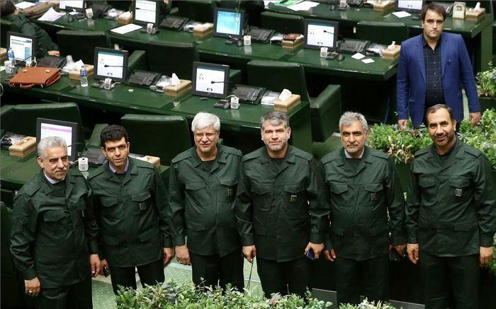 مجلس ایران یکپارچه سپاهی شد